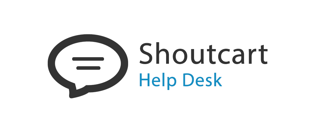 Shoutcart Help Desk Help Center home page